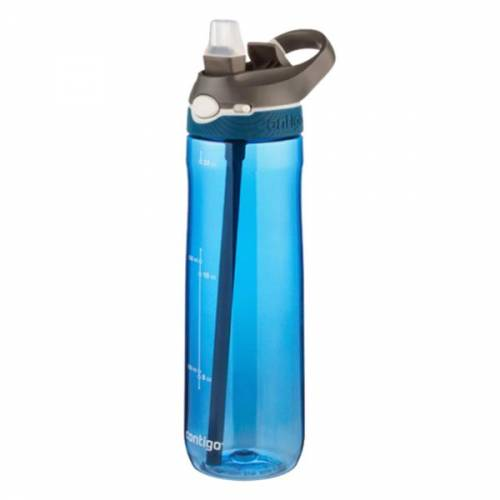 Contigo Ashland Autospout Water Bottle Red Grey Blue Hiking Camping Trailblazers Ireland
