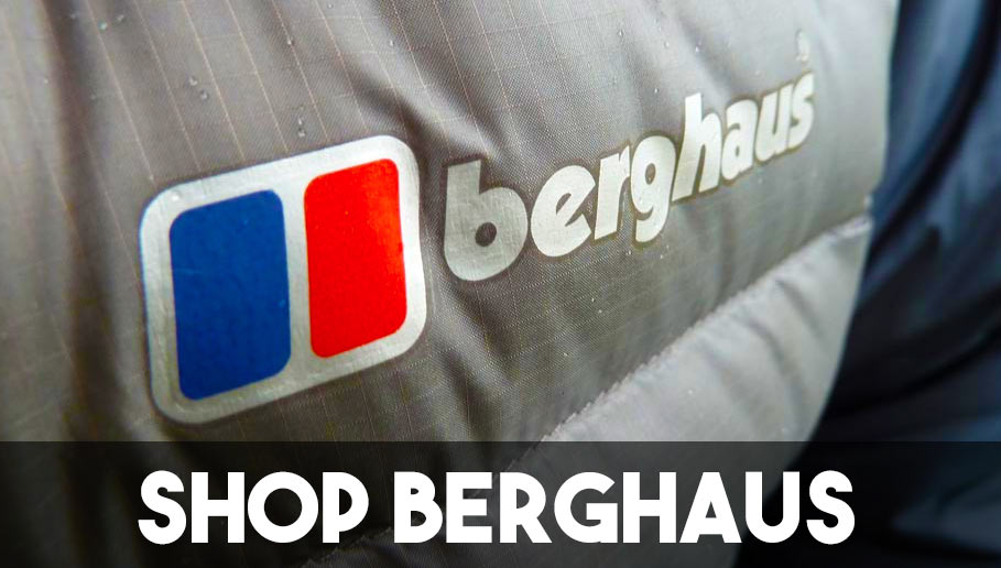 Shop Berghaus brand men's women's clothing jackets fleeces pants