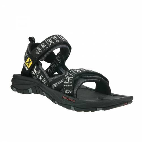 Source Gobi Sandal Men's Black Strong walking Trailblazers Ireland