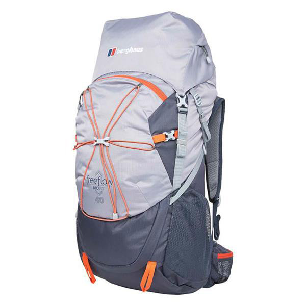 ad6be7466bdb Berghaus Freeflow 40L Rucksack Backpack bag hiking walking outdoor black  blue Trailblazers Ireland