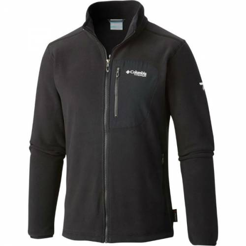 Men's Columbia Titan Pass 2.0 Fleece Jacket Black Warm Microleece Trailblazers Ireland
