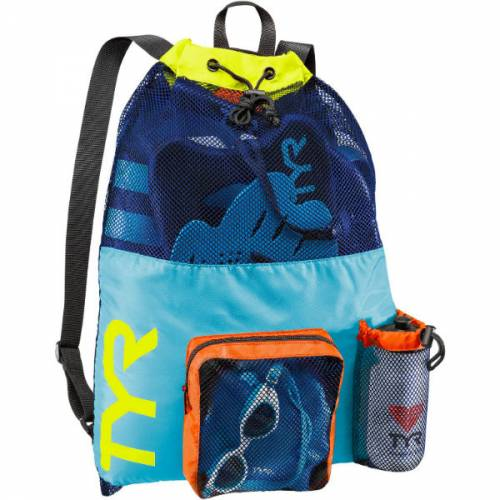 TYR Large Mummy Mesh Backpack Triathlon Swimming Training Bag Trailblazers Ireland