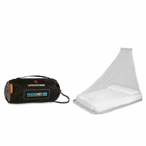 Lifventure Double Micro Mosquito Net Travelling backpacking insect repellent trailblazers ireland