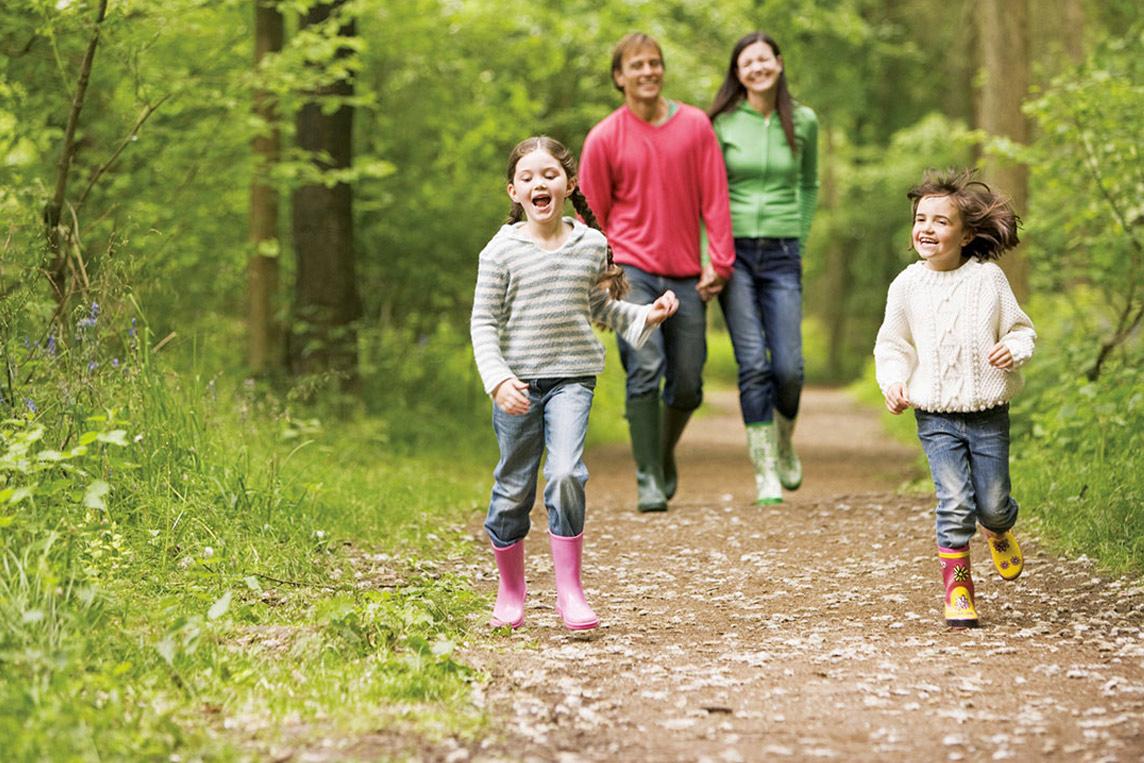 Hiking and camping ireland family fun