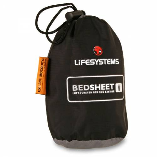 LifeSystems Single Bed Bug Undersheet Sheet Insect Repellent treated Travelling back packing interrailling trailblazers ireland