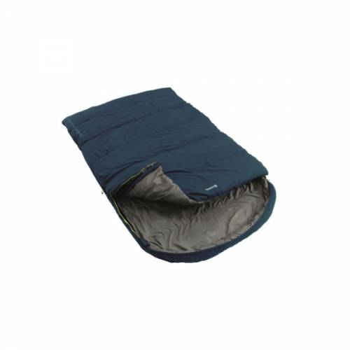 Outwell Campion Lux Double Sleeping Bag Camping Wrm Insulated 3 Season Bag Blue Trailblazers Ireland