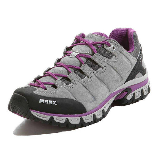 Meindl Vegas Lady Hiking Shoe Comfortable Lightweight Grey Walking Trailblazers Ireland