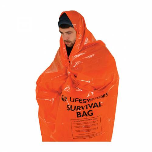 LifeSystems Survival Bag Adventure Hiking trekking Hypothermia Cold Safety Warm Trailblazers Ireland
