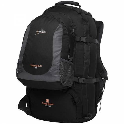 Vango freedom 80l+20l travel rucksack litre backpack interrailing