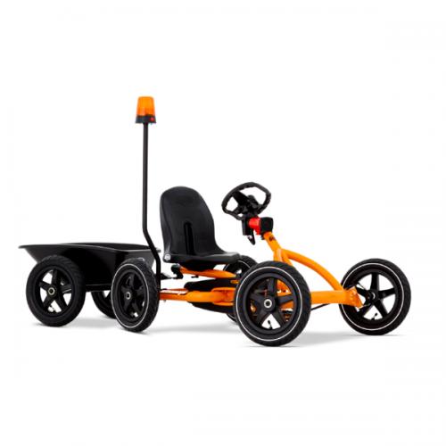 Berg Buddy Flashing Light on a pole orange blue children's go karts accessories