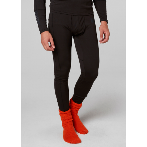 mens helly hansen hh lifa active pant baselayer warm insulated wicking black