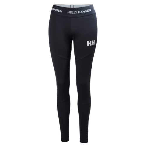 womens helly hansen hh lifa active pant warm insulated wicking baselayer graphite blue