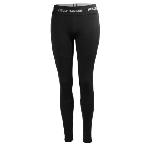 womens helly hansen hh lifa merino pant warm insulated wicking black