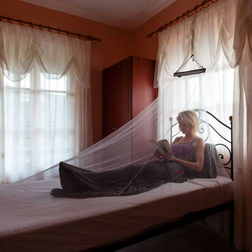lifesystems micro mosquito net single travel