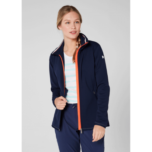 Women's helly hansen naiad fleece jacket warm navy blue
