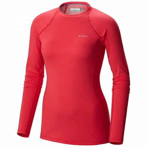 womens columbia midweight stretch long sleeve 1/2 zip baselayer omni-heat omni-wick warm wicking dry