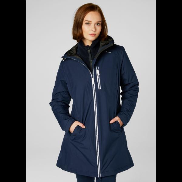 8cb20ccd Women's Helly Hansen Long Belfast Winter Jacket | Insulated ...