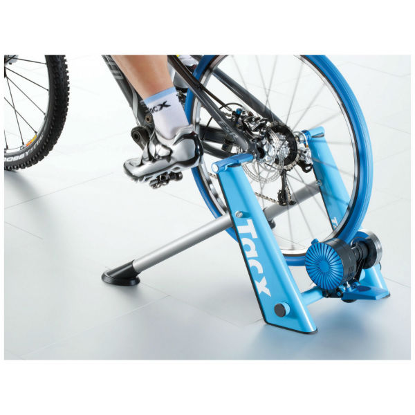 TACX blue twist cycling turbo trainer