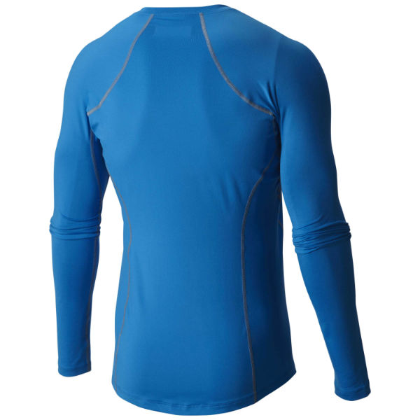 mens columbia midweight stretch long sleeve 1/2 zip baselayer omni-heat omni-wick warm wicking dry