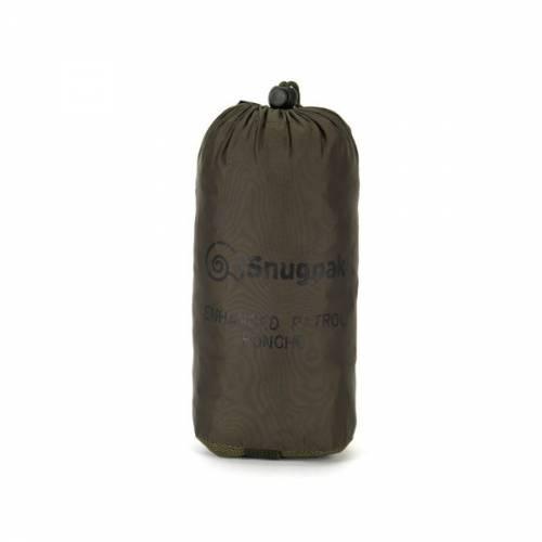 snugpak enhanced patrol poncho waterproof hiking backpack