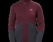 Women's Helly Hansen EQ Black Midlayer Jacket