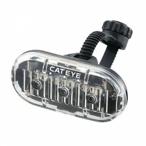 Cateye Omni 3 Front Plus Rear Bicycle Light Combo Set