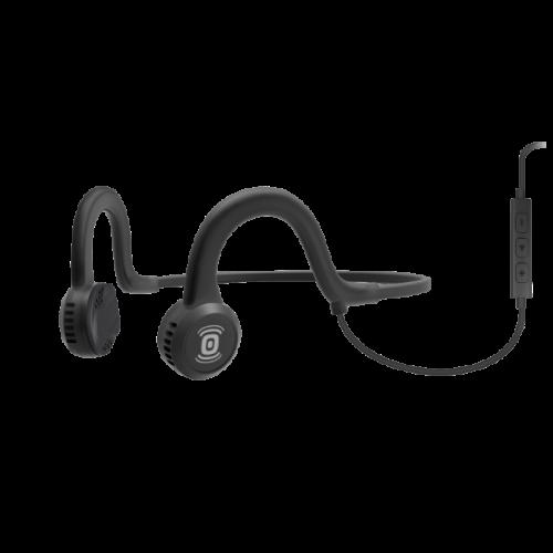 Aftershokz Sportz Titanium Headphones Mic Bone Conduction Noise Cancelling