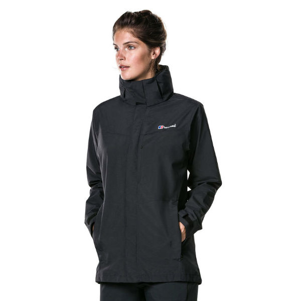 Berghaus Womens Hillwalker Long Waterproof Jacket Winter Bloom