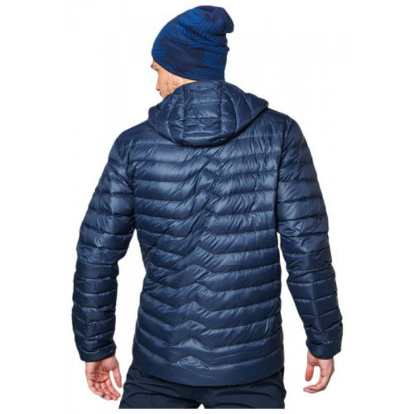 ea210713223e men s helly hansen verglas hooded down insulator jacket 730 fill warm