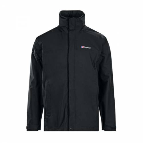 berghaus rg alpha shell jacket waterproof hiking walking black