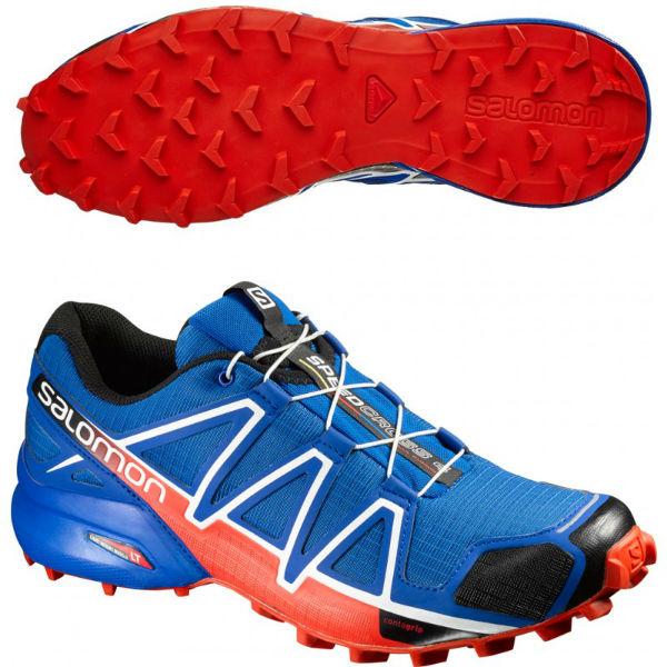 pas mal 230dc 02a8b Men's Salomon Speedcross 4 Trail Running Shoe