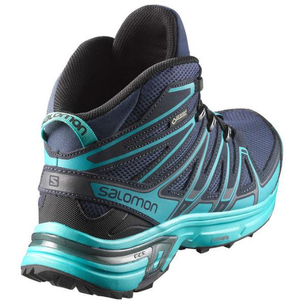 Salomon X Chase Mid Goretex Blue buy and offers on Trekkinn