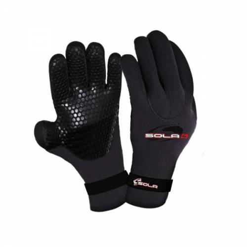 Sola 3mm Titanium Double Lined Gloves