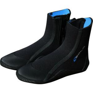 Sola zip wetsuit boots blue 5mm