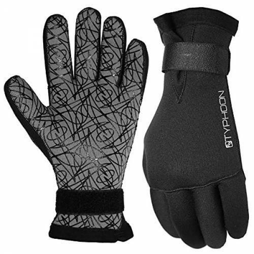 Typhoon 5mm Divers II Velcro Gloves