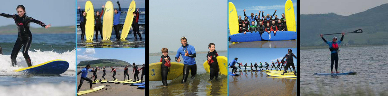 strandhill surf school trailblazers family fun days out