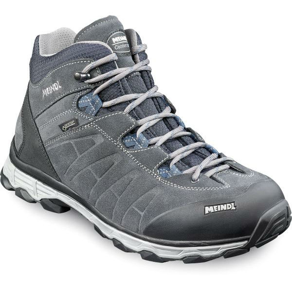 Womens Lite Trail Lady GTX Low Rise Hiking Boots, Navy/Grey Meindl