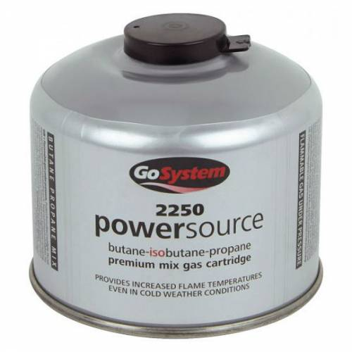 GoSystem 2250 Powersource Premium Mix Gas Cartridge