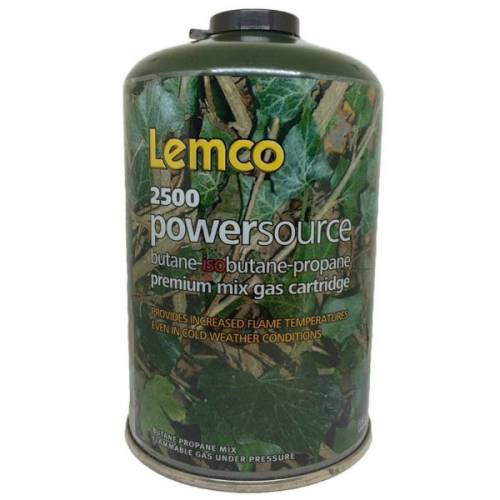 Lemco 2500 Powersource Premium Mix Gas Cartridge
