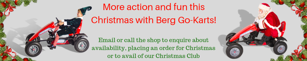 Berg go-karts trailblazers co. leitrim christmas