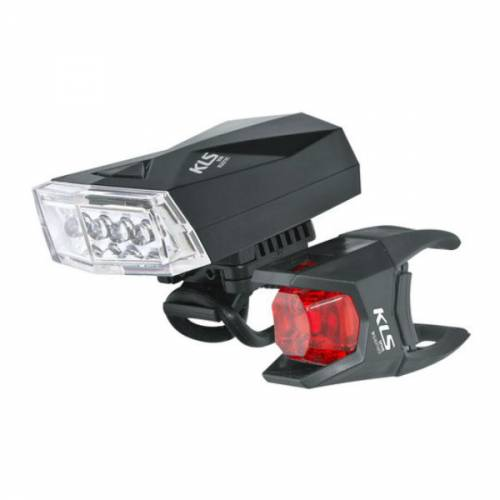 'KLS Noble Set LED Front And Tail Bike Light
