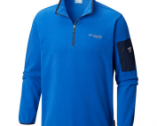 Men's Columbia Titan Pass 1.0 Half Zip Fleece