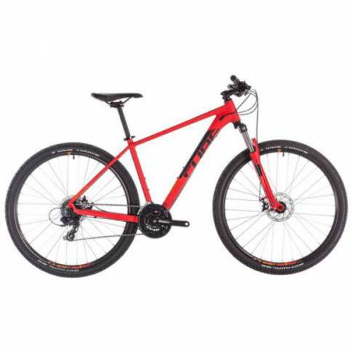 cube aim 14 inch red mtb ed