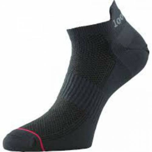1000 mile trainer sock mens black ed