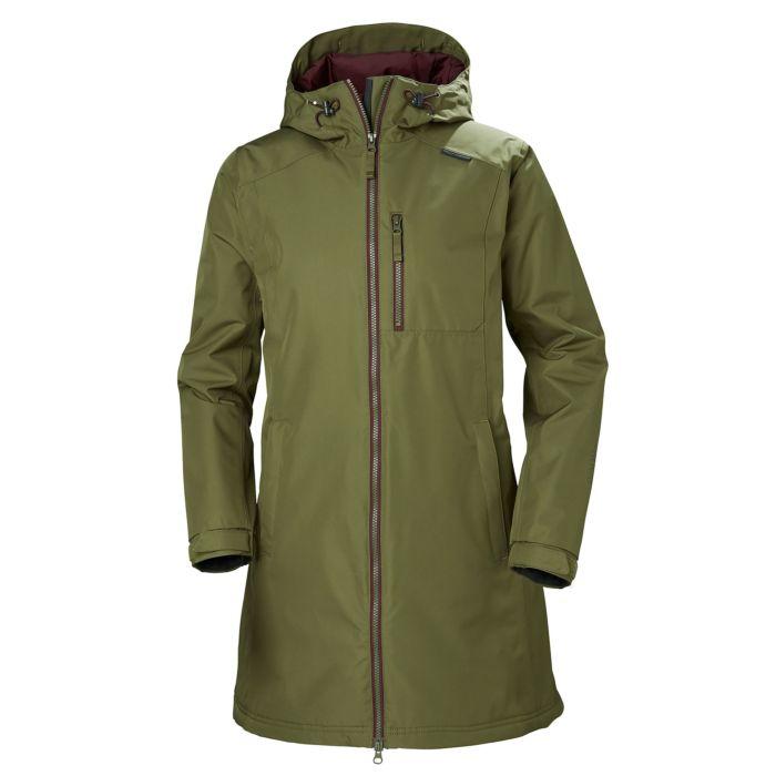 Women's Helly Hansen Long Belfast Winter Jacket